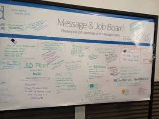 Job/Message board