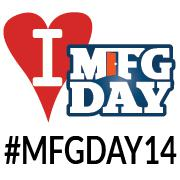 #MFGDAY14!  Make this image your avatar and get tweeting!